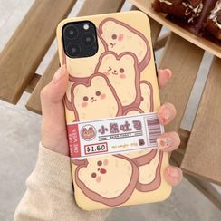 Rockit - Cartoon Food Mobile Case - iPhone XR / XS / X / 8 / 8 Plus / 7 / 7 Plus / 6s / 6s Plus