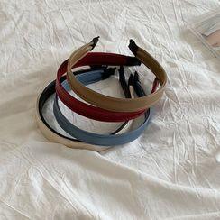 Calypso - Faux Leather Headband