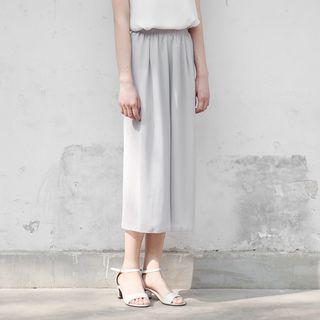 ERNY - Capri Wide-Leg Chiffon Pants