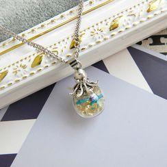 Jasminte - Octopus Pendant Necklace
