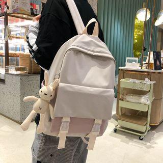 Gokk - 双色尼龙背包