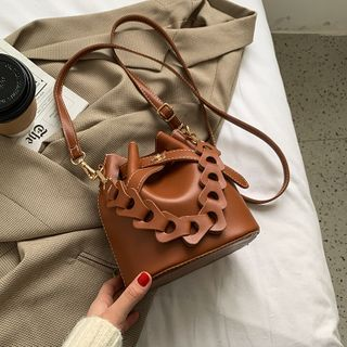 BAGUS - Twisted Strap Bucket Bag