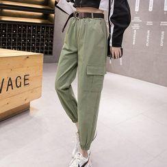 Gray House - Cargo Jogger Pants
