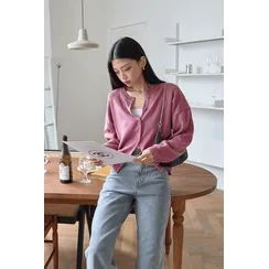 SIMPLY MOOD - Basic Loose-Fit Cardigan in 12 Colors