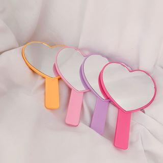 Hello minto - Heart Handheld Mirror