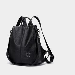 AIDO - Convertible Genuine Leather Backpack