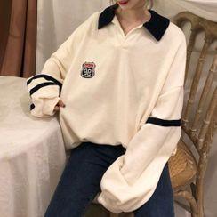 Apotheosis - 貼章馬球衛衣