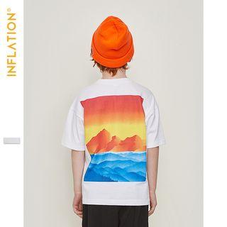 Wolandorf - Kids Short-Sleeved Printed T-Shirt
