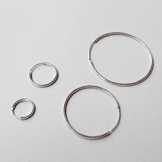 Phoenoa - 925純銀圈環耳環