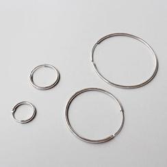 Phoenoa - 925纯银圈环耳环
