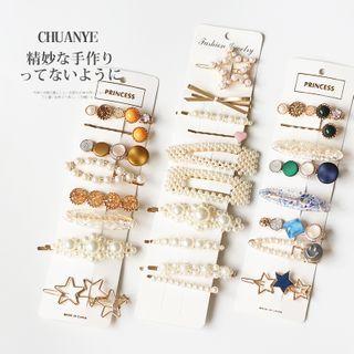 Kawano - Set: Hair Pin / Hair Clip (assorted designs)