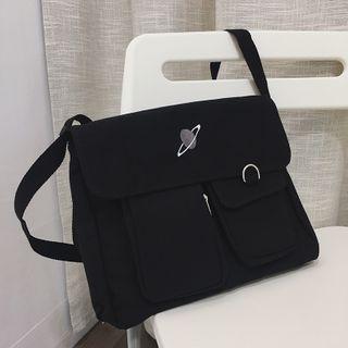 Litesap - Embroidered Messenger Bag