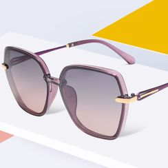 Aisyi - Retro Square Sunglasses