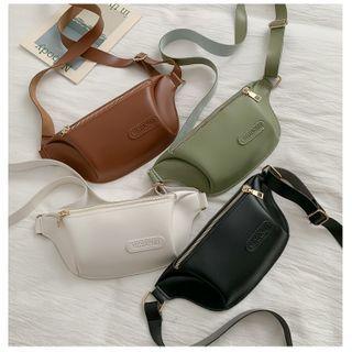 Perlin - Faux Leather Belt Bag