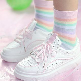 Sayaka - Striped Socks