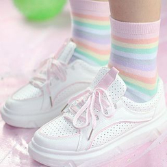 Sayaka - Striped Socks