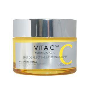 MISSHA - Vita C Plus Spot Correcting & Firming Cream