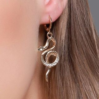 Mulyork - Snake Drop Earring