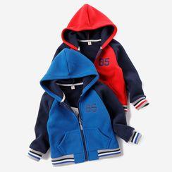 Happy Go Lucky - Kids Numbering Hooded Zip Jacket