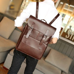ETONWEAG - Faux Leather Backpack
