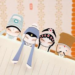 Seoul Young - Chinese opera Character Bookmark (1 set/ 7pcs)