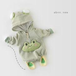 Cen2ury - Baby Hooded Frog Plush Bodysuit