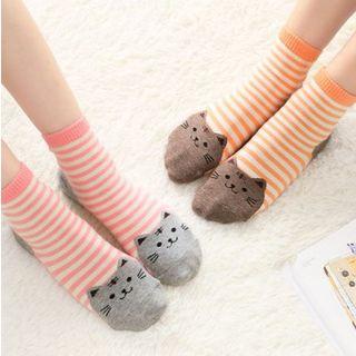 懒角落 - 猫猫款袜子