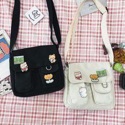 OUCHA - Canvas Messenger Bag