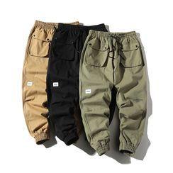 Alvicio - Drawstring Cropped Harem Pants