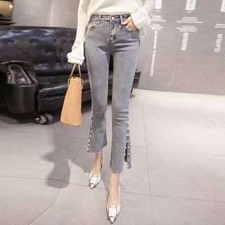 Corro - Beaded Skinny Jeans