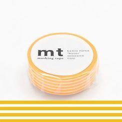 mt - mt Masking Tape : mt 1P Border Yellow