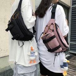 Gokk(ゴック) - Buckled Nylon Sling Bag