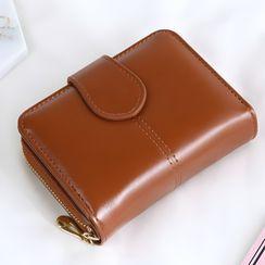 nitefini - Faux Leather Zip Wallet