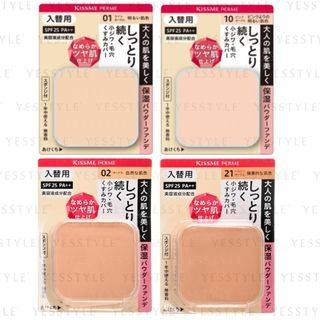 ISEHAN - Kiss Me Ferme Moisturized Skin Powder Foundation SPF 25 PA++ Refill - 4 Types