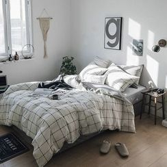 Sharemily - Bedding Set: Pillow Case + Bed Sheet + Duvet Cover