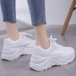 Mowin - 厚底休閒鞋