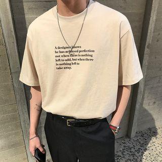 MRCYC - Lettering Elbow-Sleeve T-Shirt