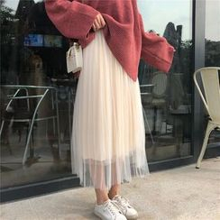 Rerise - Tulle Midi Skirt
