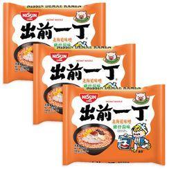 Nissin - Demae Iccho Tonkotsu Series Hokkaido Miso Tonkotsu Flavour (3 packs)