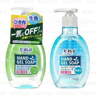 花王 - Biore Hand Gel Soap 250ml - 2 Types