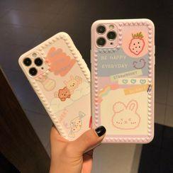 Huella - Cartoon Phone Case For iPhone SE / 7 / 7 Plus / 8 / 8 Plus / X / XS / XR / XS Max / 11 / 11 Pro / 11 Pro Max
