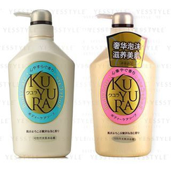 Shiseido - Kuyura Body Wash 550ml - 2 Types