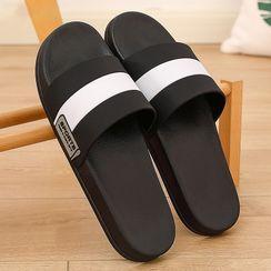 Ishanti - 条纹拖鞋