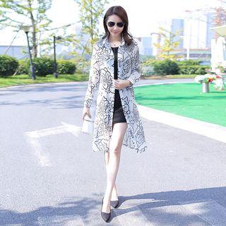 Fancy Show - 雪纺薄夹克 / 迷你背心裙