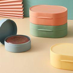 Tiftly - Plain Plastic Soap Case (various designs)