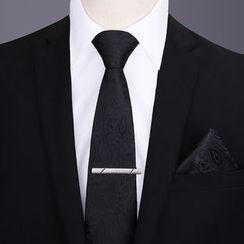 Seaton - 套裝: 領帶 + 口袋巾 + 領帶夾