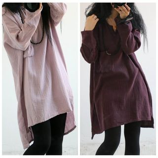 MOSOOM - Pain Long-Sleeve Tunic