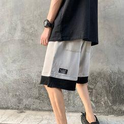 Fresco - Color Block  Shorts