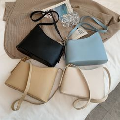 Road to Love - Faux Leather Shoulder Bag