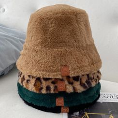 卿本佳人 - 毛絨漁夫帽
